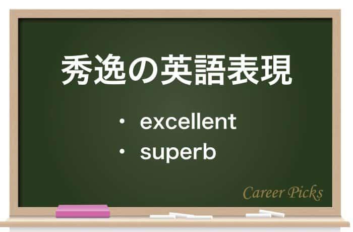 秀逸の英語表現