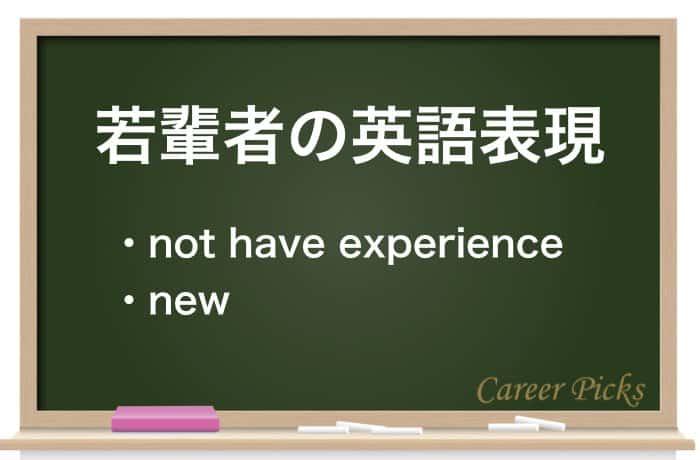 若輩者の英語表現