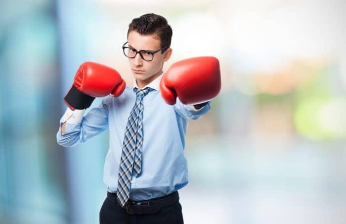 打たれ弱い性格を克服する4つの方法