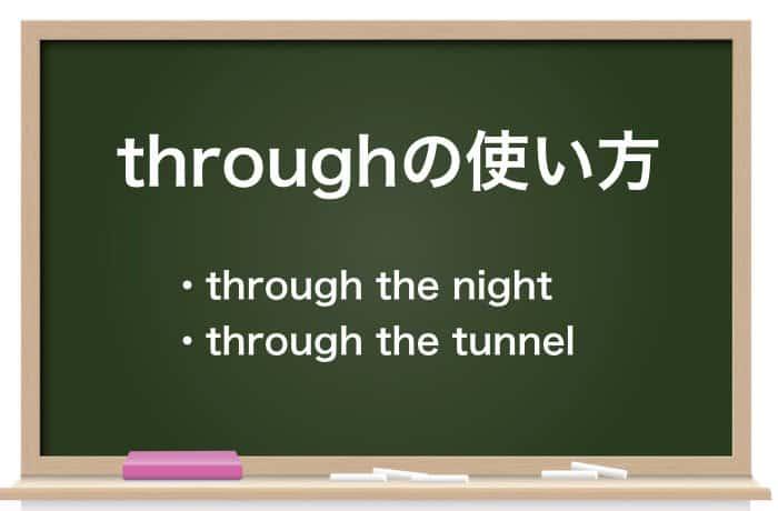 throughの使い方