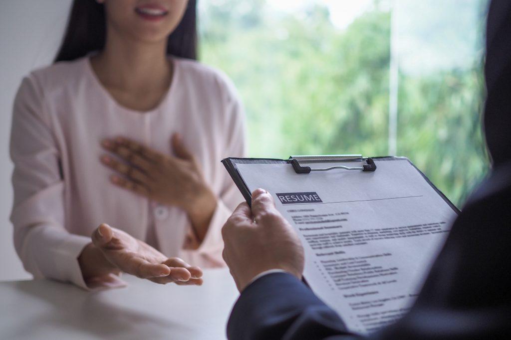 コンサルタントによる履歴書の作成