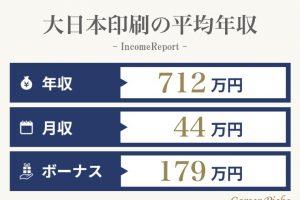 大日本印刷の年収