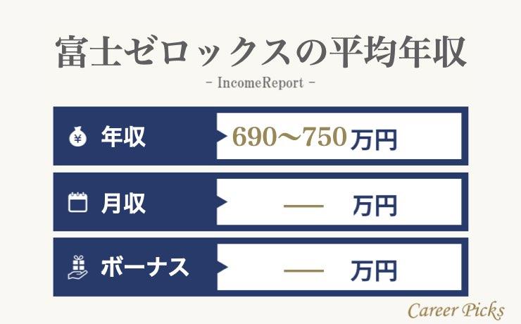 富士ゼロックスの平均年収