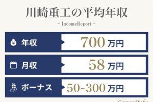 川崎重工の年収