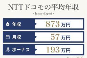 NTTドコモの年収