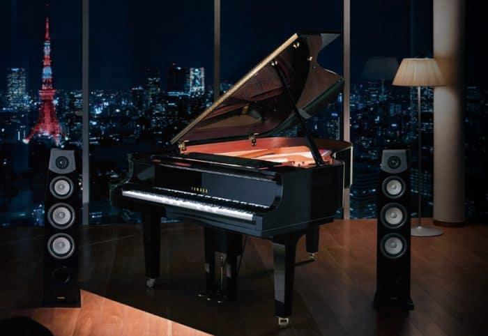 YAMAHAを代表するグランドピアノ