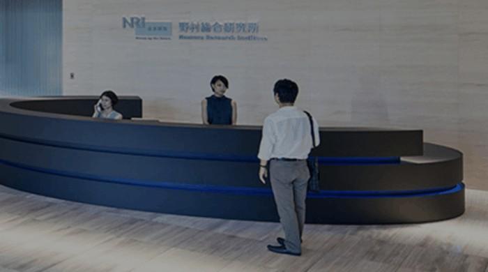 NRI社内の様子