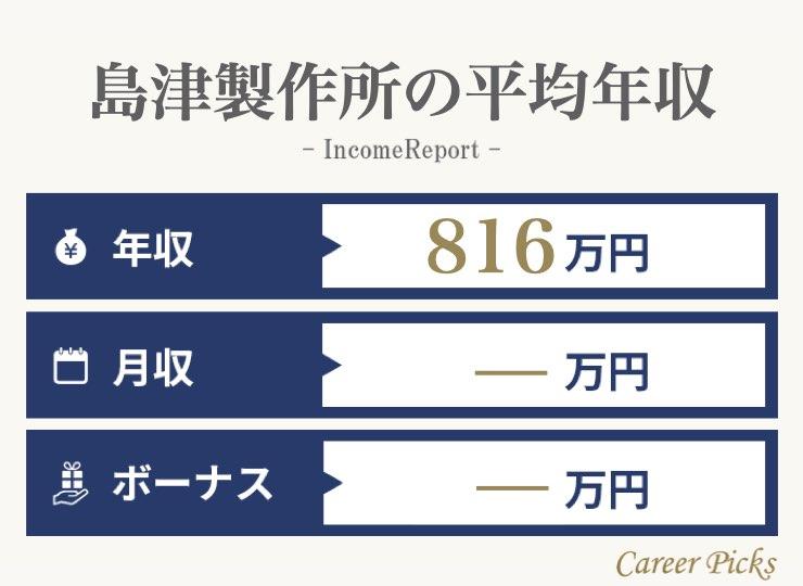 島津製作所の平均年収