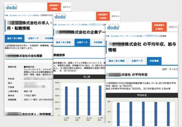 doda|企業情報