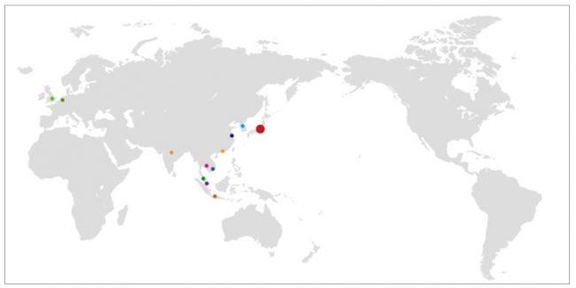 JACリクルートメントのグローバルネットワーク