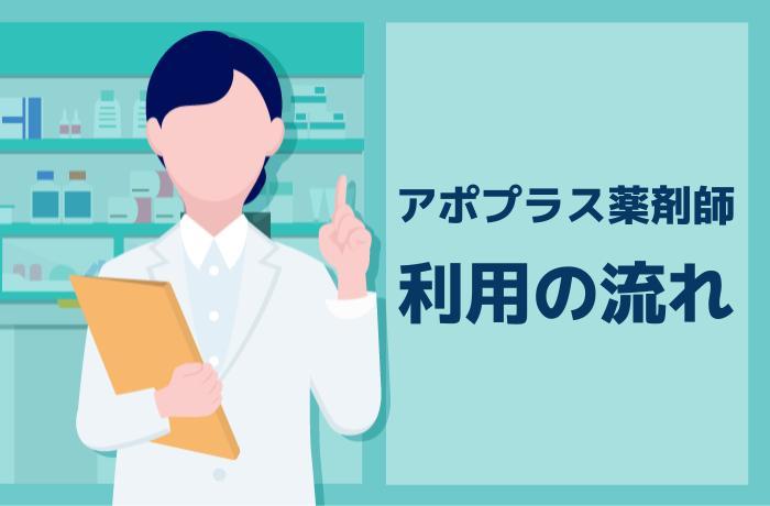 アポプラス薬剤師の登録から応募までの全4ステップ