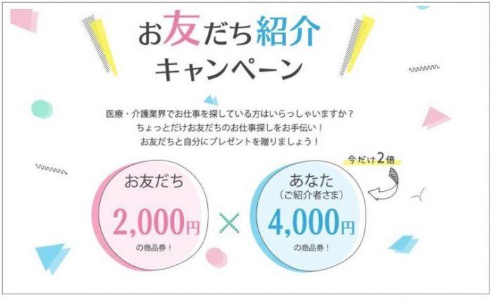 メドフィット 友達紹介キャンペーン