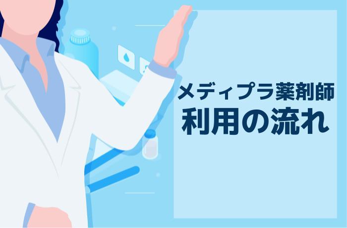 メディプラ薬剤師の登録から応募までの全4ステップ