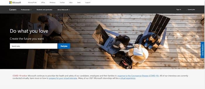 転職前に役立つ日本マイクロソフトの企業情報