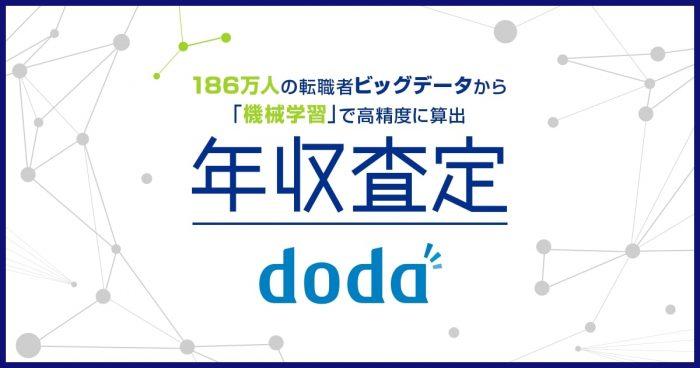 doda「年収査定」の診断内容と活用方法とは?